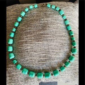 Beaded Rhinestone Necklace